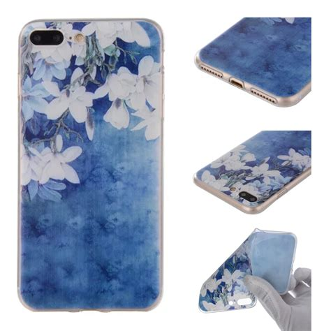 Tpu Softcase Silicon Soft Back Cover Iphone 7 Iphone 8 Murah painted pattern silicone tpu soft back cover for iphone 7 7 plus 6 plus 5 6 ebay