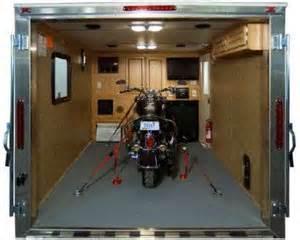 Hauler Garage Storage Ideas Motorcycle The Rving Lifestyle