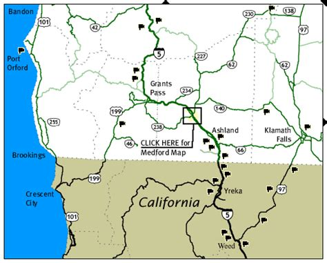 map of s w oregon southwest oregon road and traffic cams