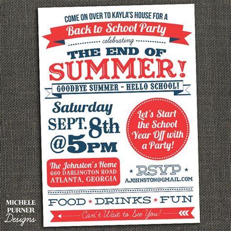best 25 summer party invites ideas on pinterest