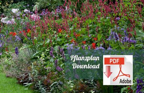 staudengarten pflanzplan pflanzen f 252 r nassen boden - Pflanzplan Staudenbeet Mit Gräsern