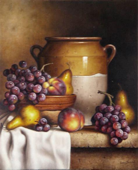 imagenes de uvas en oleo pin bodegon con uvas al oleo bodegones sobre lienzo
