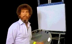 bob ross painting gif bob ross painting gif find on giphy