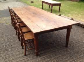 dining room tables that seat 12 or more oak farmhouse table seats 12 comfortably dining room
