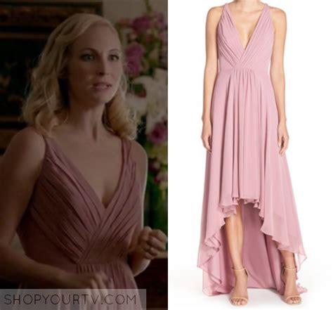 Dress Carol Pink the diaries season 8 episode 9 caroline s pink