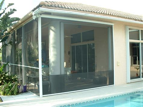 Roll Up Screens For Porch roll up insect screen promenade screens