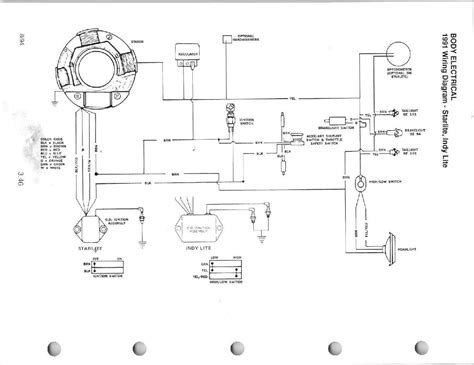 snowmobile wiring diagram snowmobile free engine image