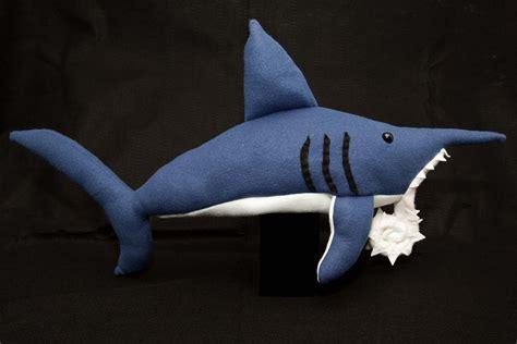 Shark Plushie whorl tooth shark plush by paleogirl on deviantart