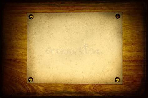 vintage notice board stock photo image  note brown