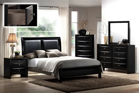 All Black Bedroom Set by All Black Bedroom Set Easy Furniture Pics Sets