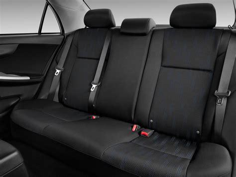 Toyota Seats Image 2011 Toyota Corolla 4 Door Sedan Auto S Natl Rear