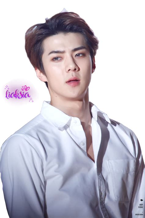 Exo Sehun 94s Sticker By Exo exo sehun png 20 by liaksia by liaksia on deviantart