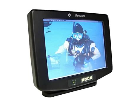 rugged monitor 10 4 quot free mount titan poseidon monitors bluestone technology ltd