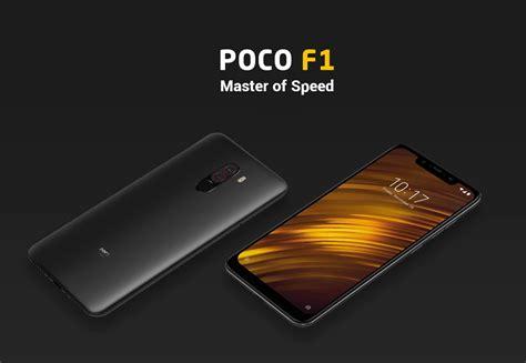 Poco Black global version xiaomi poco f1 6gb 64gb smartphone graphite