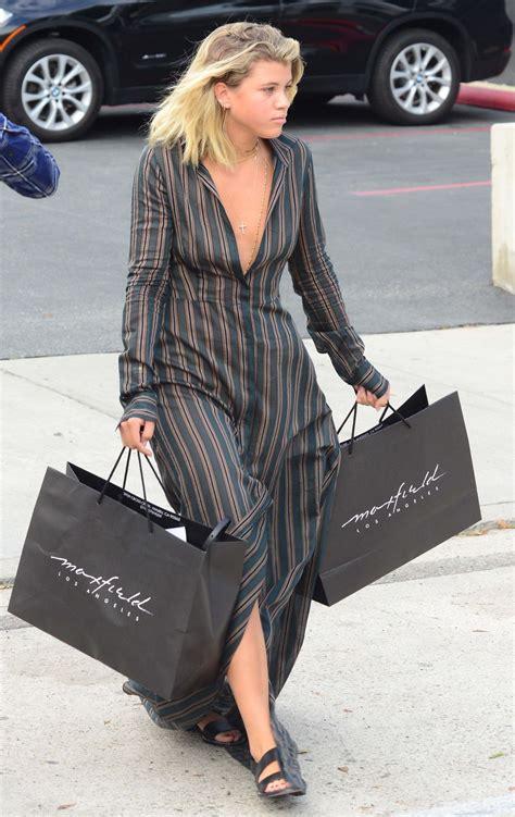 sofia richie shopping  beverly hills