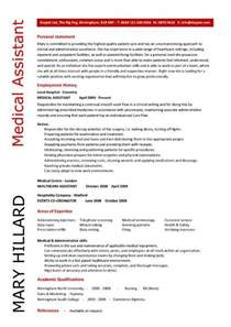 resume templates for assistants assistant resume sles template exles cv