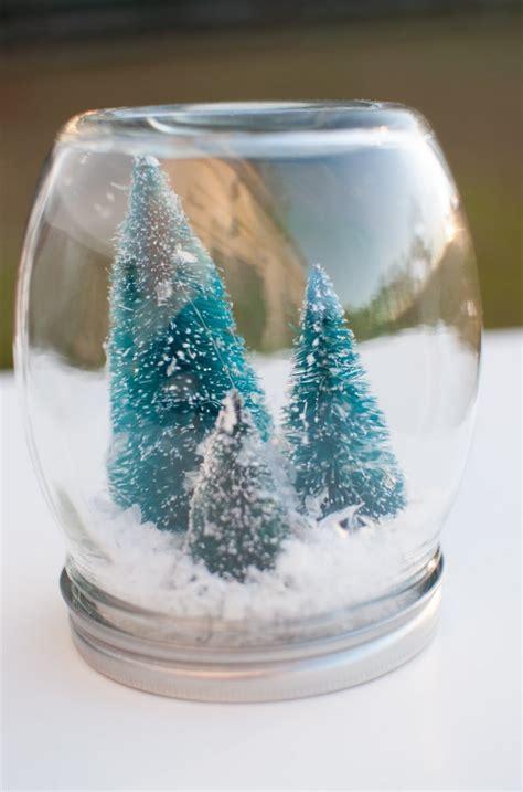 weihnachtsdeko ideen im glas zum selbermachen