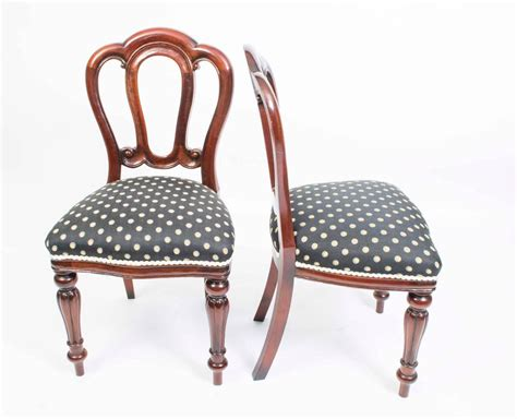Edwardian Dining Table And Chairs Antique Edwardian Dining Table Eight Chairs Circa 1900 At 1stdibs