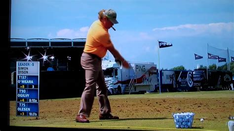 ryan moore golf swing analysis golfer miguel angel jiminez s cigar friendly workout youtube