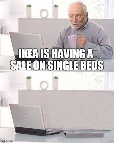 Ikea Furniture Meme - forever alone harold imgflip
