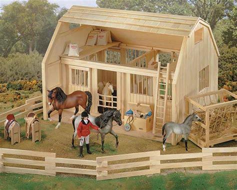 breyer barn wood corral