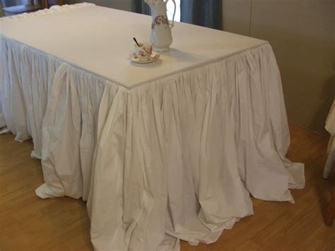 shabby chic table cloth