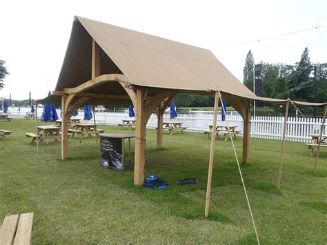 Large Canvas Gazebo For Sale Large Marquee Gazebo Frame Chaplin Oak