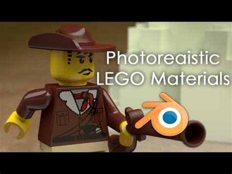 tutorial lego blender achieving photo realistic lego in blender cycles youtube
