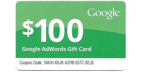 Buy Google Adwords Gift Card - google adwords 100 free promotion code 2013 html autos weblog