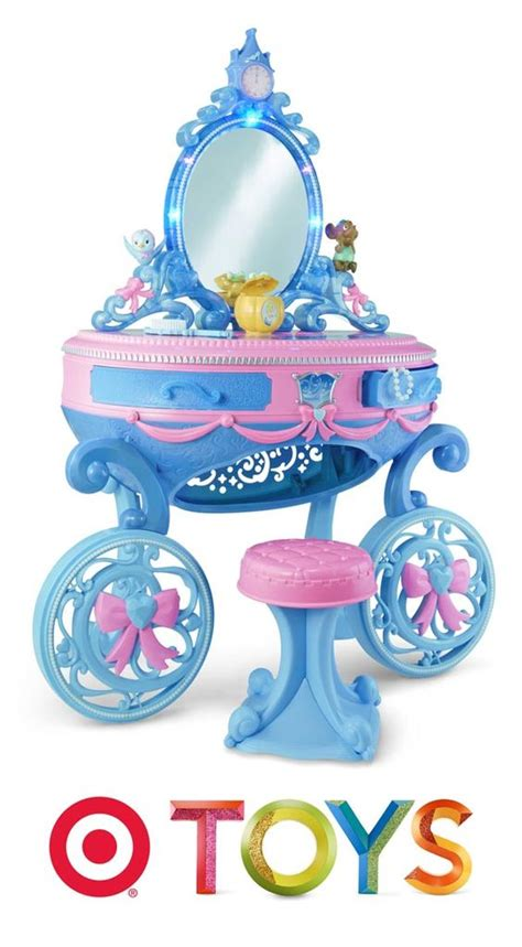 Cinderella Carriage Vanity by Your Princess Will Sitting In Front Of The