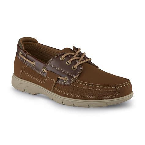boat shoes kmart thom mcan men s schooner boat shoe brown