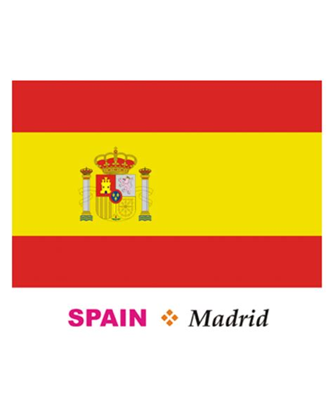 Spain Flag Coloring Pages For Kids To Color And Print Printable Spain Flag