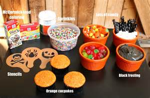 Cupcake Decorations Halloween Easy Halloween Cupcakes Images Amp Pictures Becuo