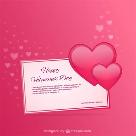 editable valentines card templates free s card template vector free