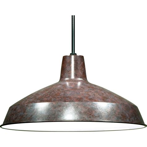 nuvo 76 662 1 light 16 quot warehouse shade pendant light