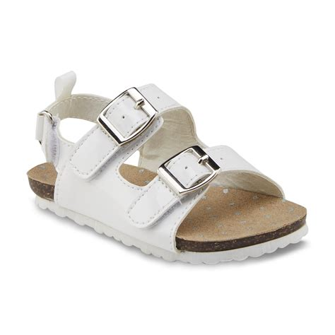 white shoes for toddler oshkosh toddler s teegan white sandal shoes baby