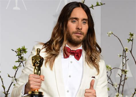 film oscar jared leto david ayer teases jared leto getting his hair cut to play