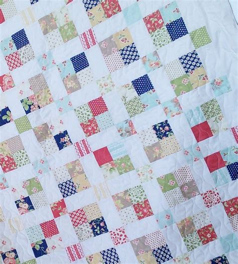 sew jelly roll quilting