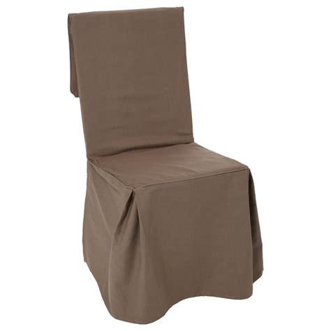housse de chaise taupe