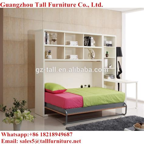 Murphy Beds Ta by Space Saving Bed With Bookcase Pull Murphy Bed