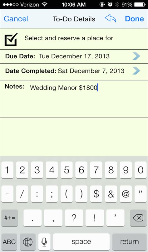 Wedding Checklist App Android by Lds Wedding Checklist Appstore For Android