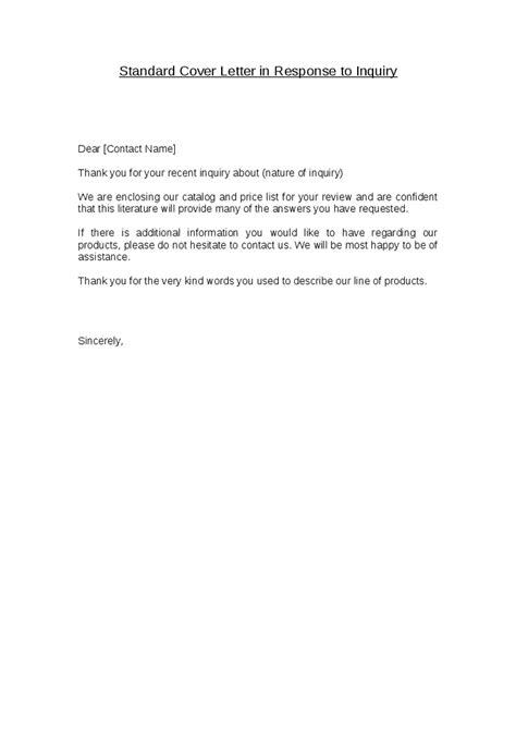 standard cover letter jvwithmenow