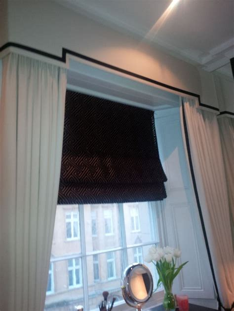 auto blinds and curtains dress curtains pelmet roman blind add some sheer