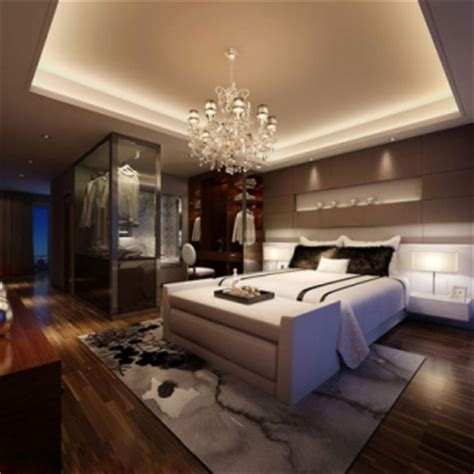 luxurious modern  stylish master bedroom  model  model downloadfree  models