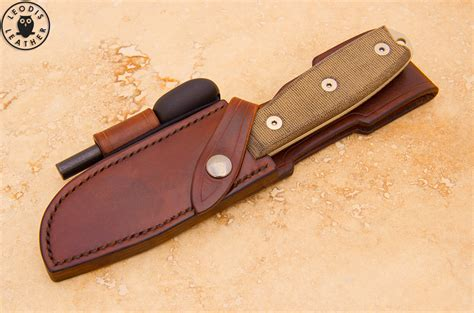 leather knife sheath ontario esee knives leather sheaths