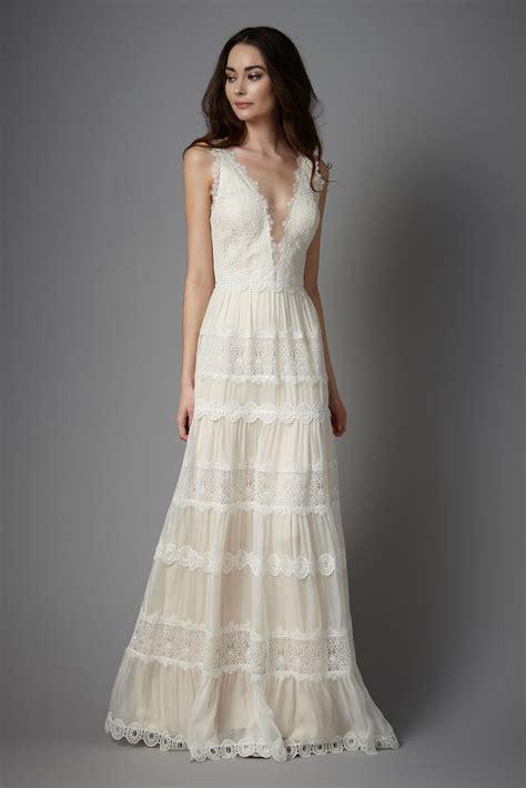 Longdres Kiara Maxi robes de mari 233 e catherine deane chez plume