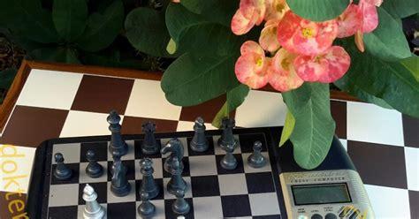 Catur Magnet Chess 1 doktercatur komputer catur papan catur plastik catur