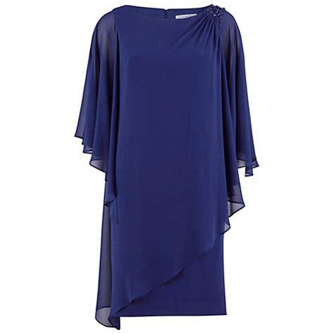 Instan Layer Crep Navy buy bacconi layered chiffon and crepe dress lewis