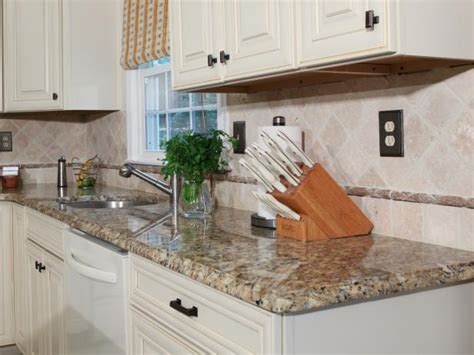 How To Install Kitchen Countertops How To Install A Granite Kitchen Countertop How Tos Diy