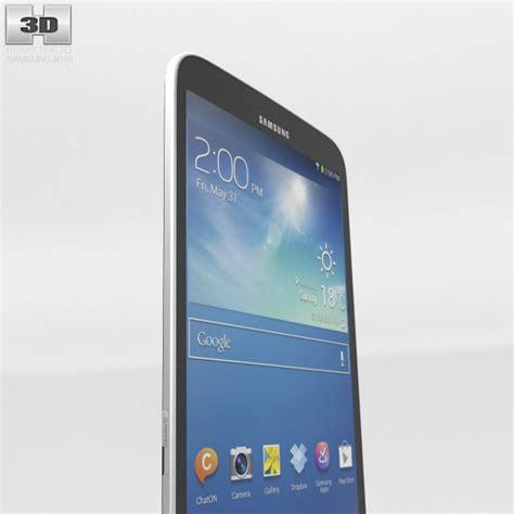 Samsung Galaxy Tab 3 8 Inch samsung galaxy tab 3 8 inch black 3d model humster3d